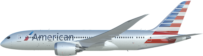 Flight Clipart American Airlines - Boeing 737 Next ...