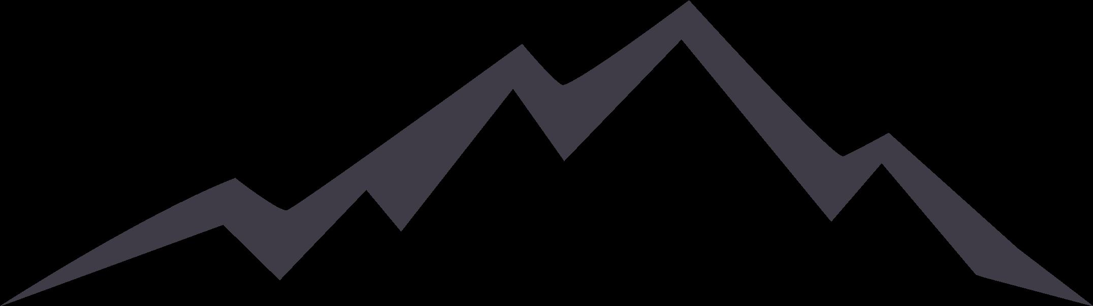 Transparent mountains clip art - Euclidean Vector Silhouette Icon Mountain Hq Image - Free Mountain Logo Png