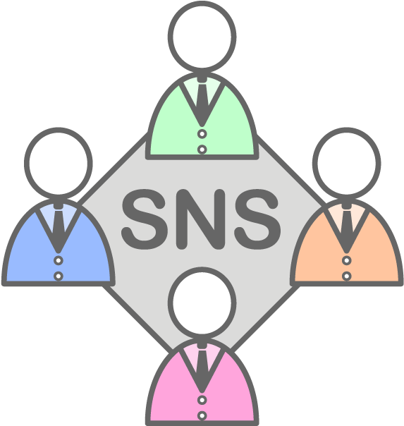 Transparent business networking clipart - View All Images-1 - Sns 無料 イラスト