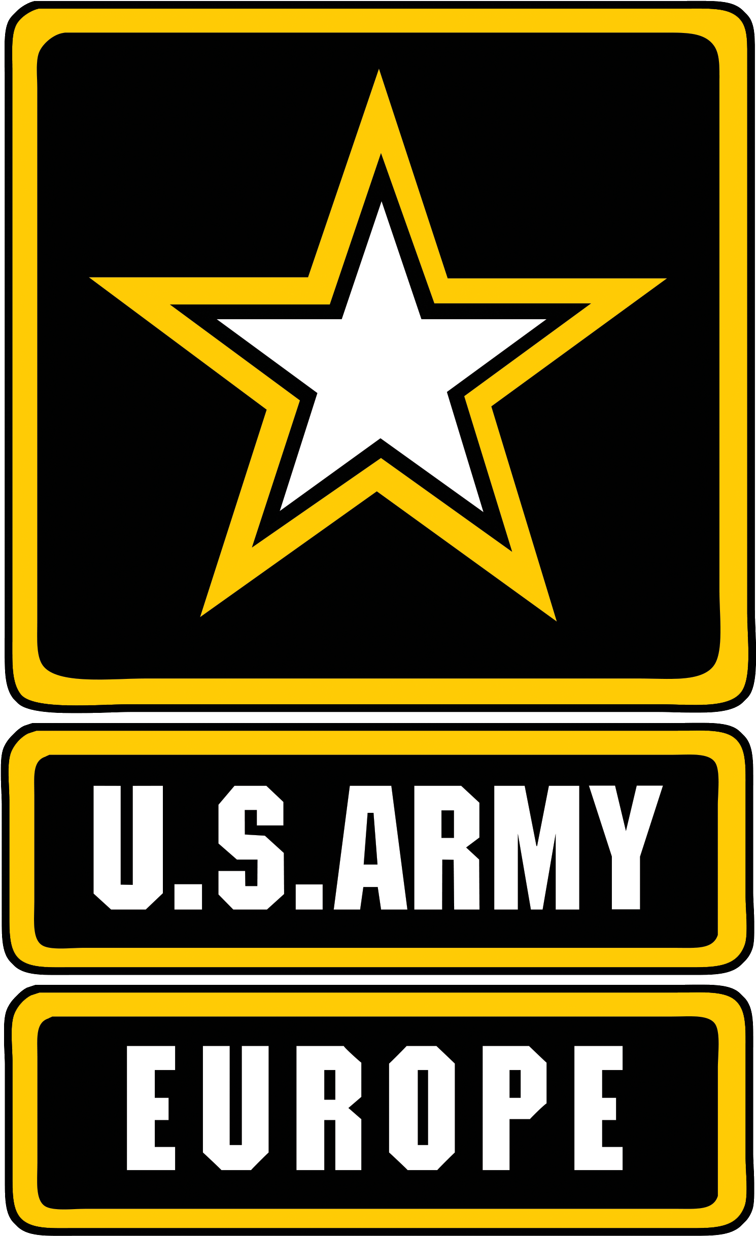 Army In Europe Png Logo - Us Army , Transparent Cartoon