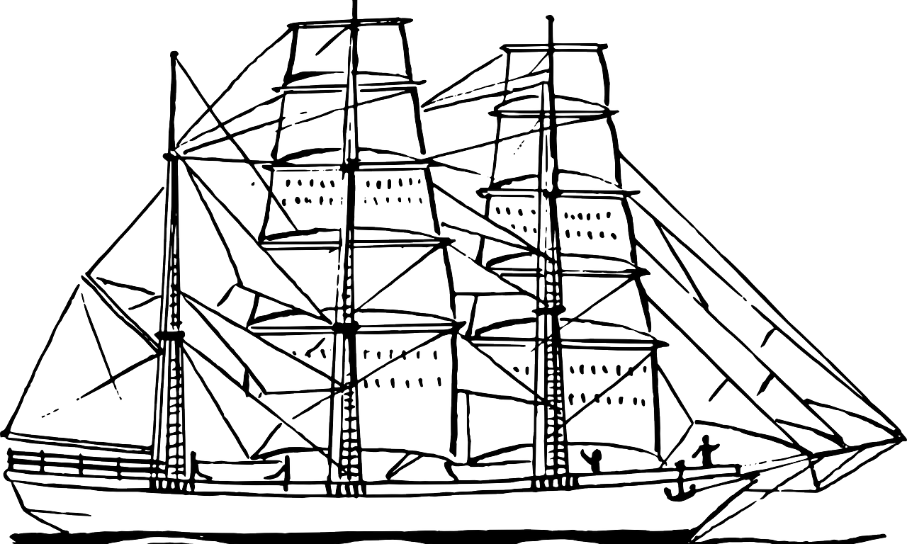 Picture Of A Sailboat - Coloring Home | 768x1280
