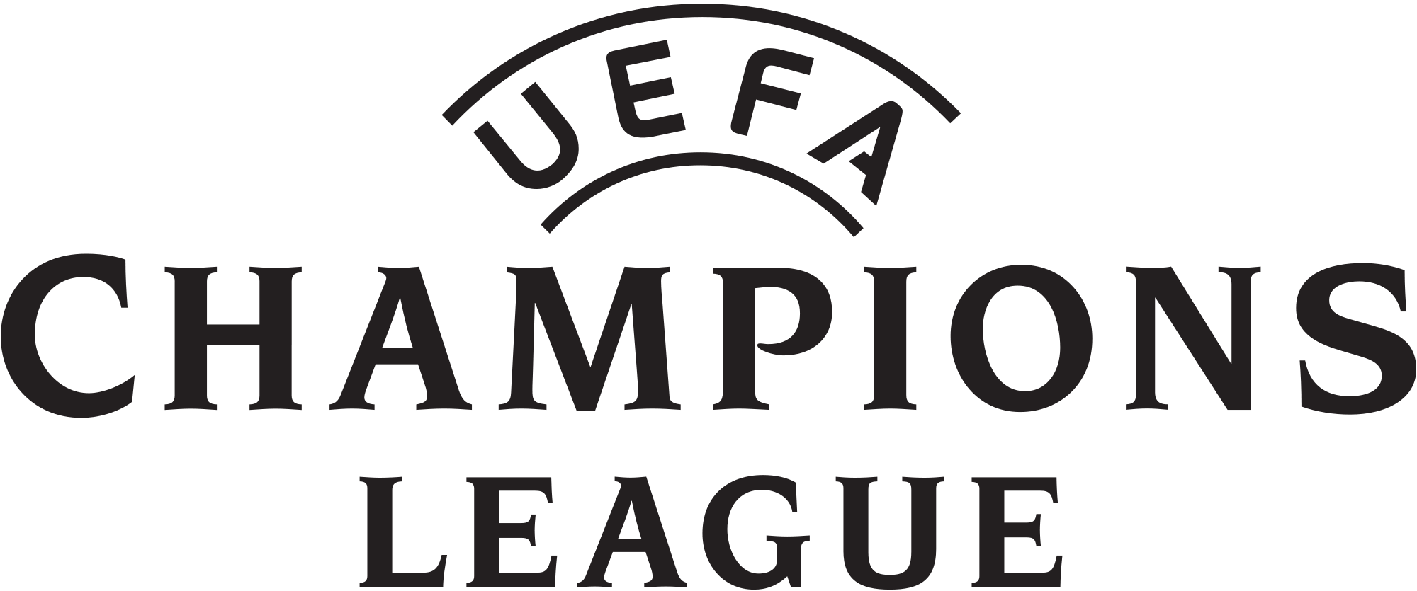 Download Uefa Champions League Logo Png White