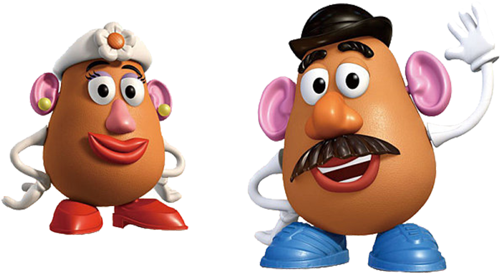 Mr Potato Head Toy Story Png - Toy Story Egg Character ...