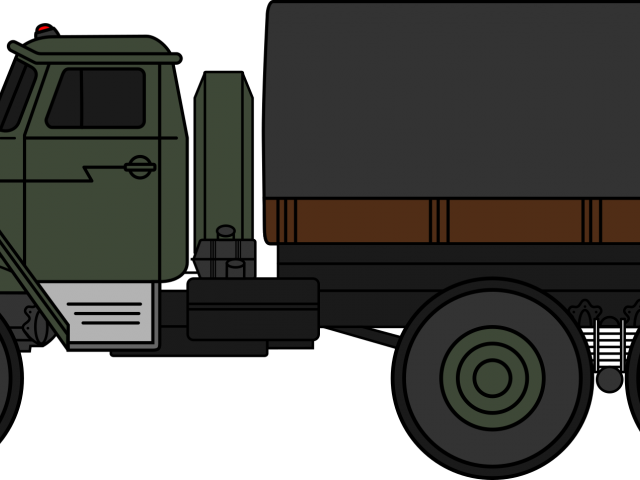 Hummer Clipart Military Truck - Military Vehicles Clipart