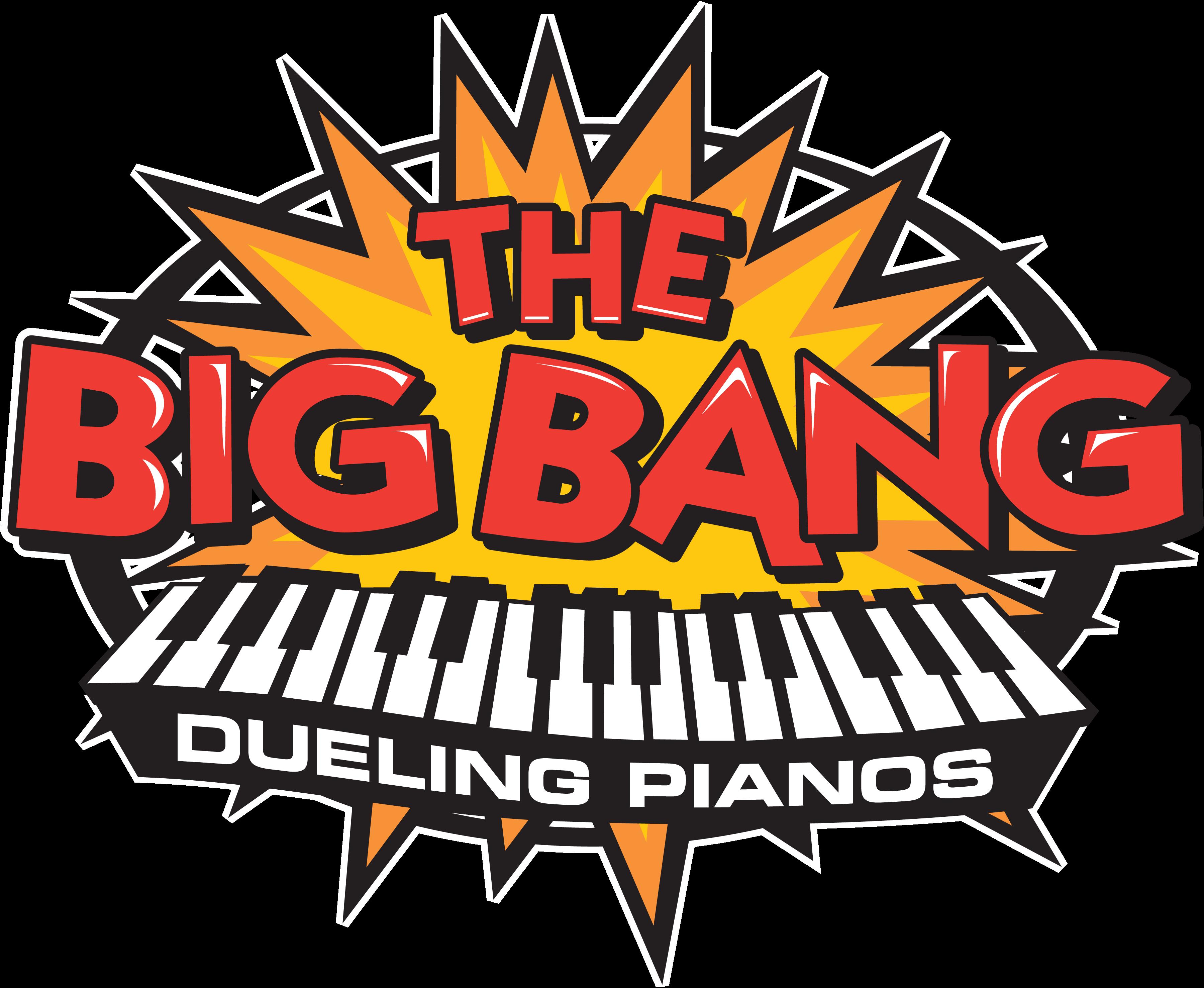 Transparent big bang clipart - Piano Clipart Dueling Pianos - Big Bang Piano Bar Nashville