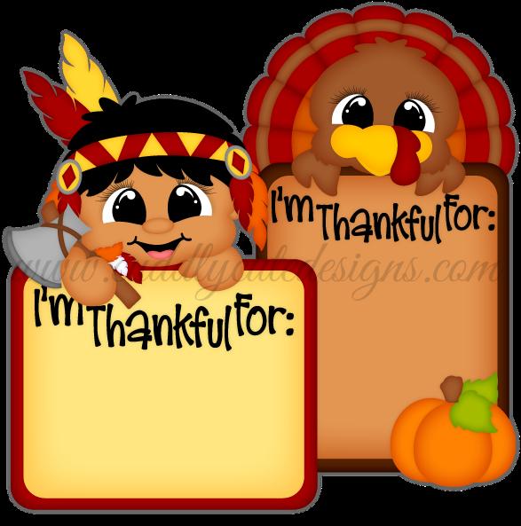 Transparent thanksgiving pilgrims and indians clipart - Thankful Indian & Turkey Blocks - Cartoon