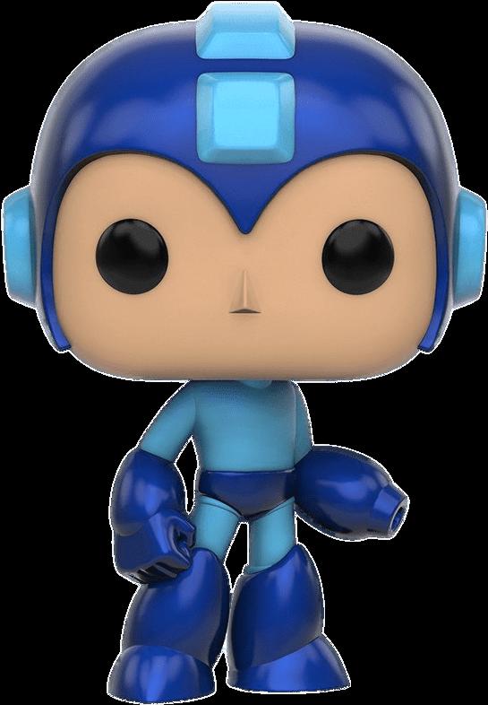 Transparent mega man clipart - At The Movies - Mega Man Funko Pop