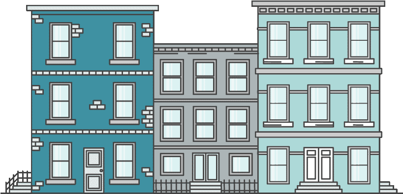 Transparent property management clipart - Multifamily Management - Architecture