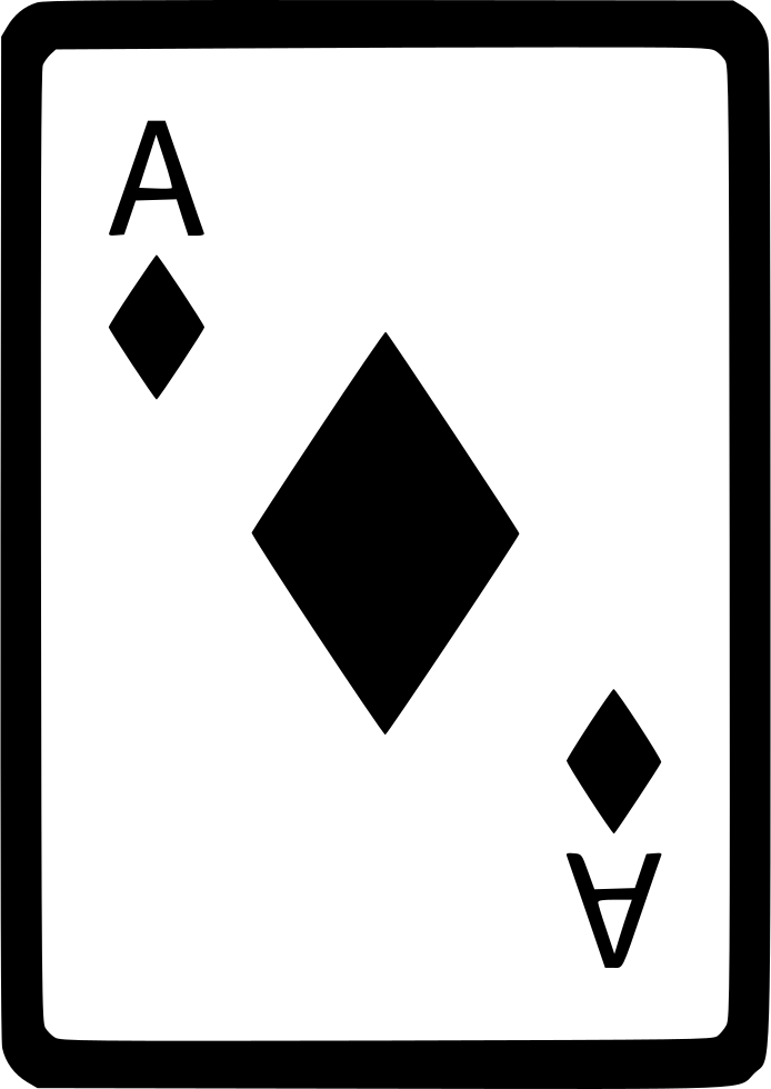 Ace Of Diamonds Card Poker Comments Black Ace Of Diamonds