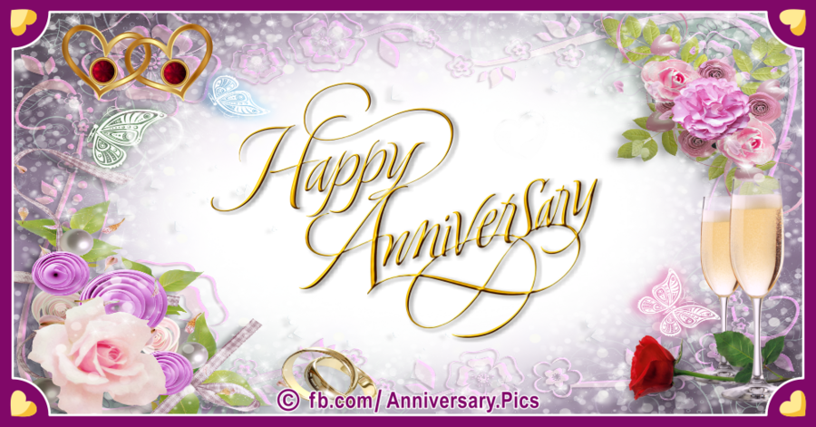 Transparent ruby wedding anniversary clipart - Download Wedding Anniversary Invitations Clipart Floral - 50th Wedding Anniversary Invitations
