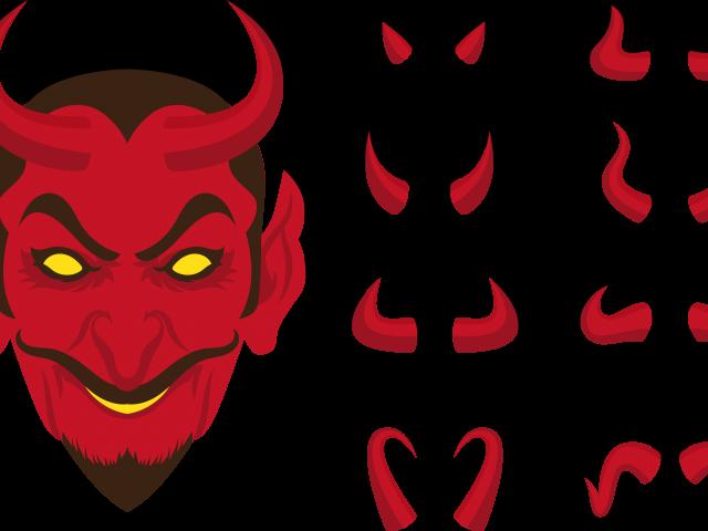 Demon Clipart Marshmallow - Devil Horns Clipart Png ...