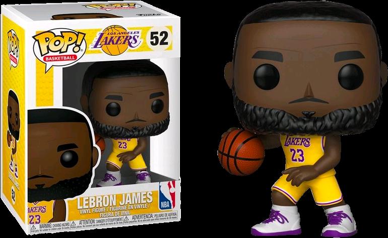 Lebron James Head Png Funko Pop Lebron James Lakers Transparent Cartoon Jing Fm