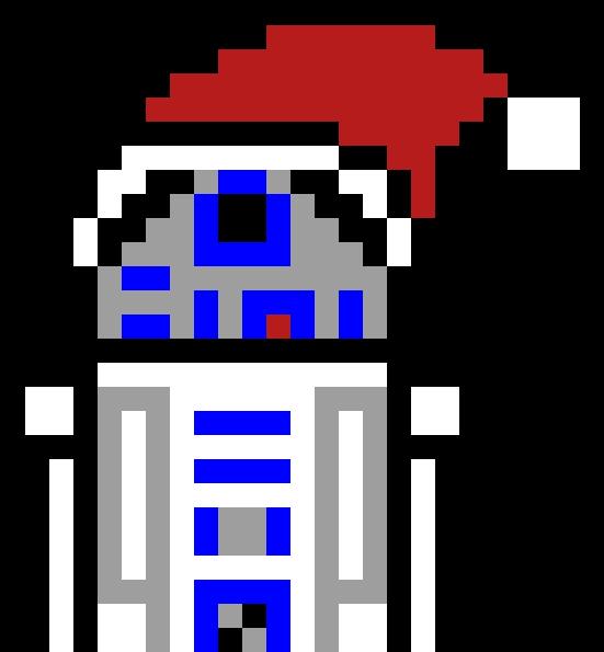 Random Image From User Pixel Art Star Wars R2d2
