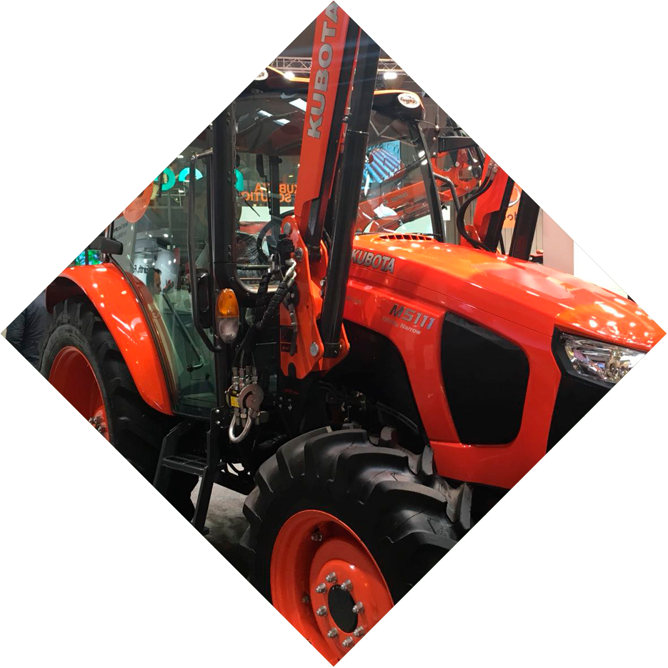 Transparent kubota tractor clipart - New Products Presented At Fima - Tractor