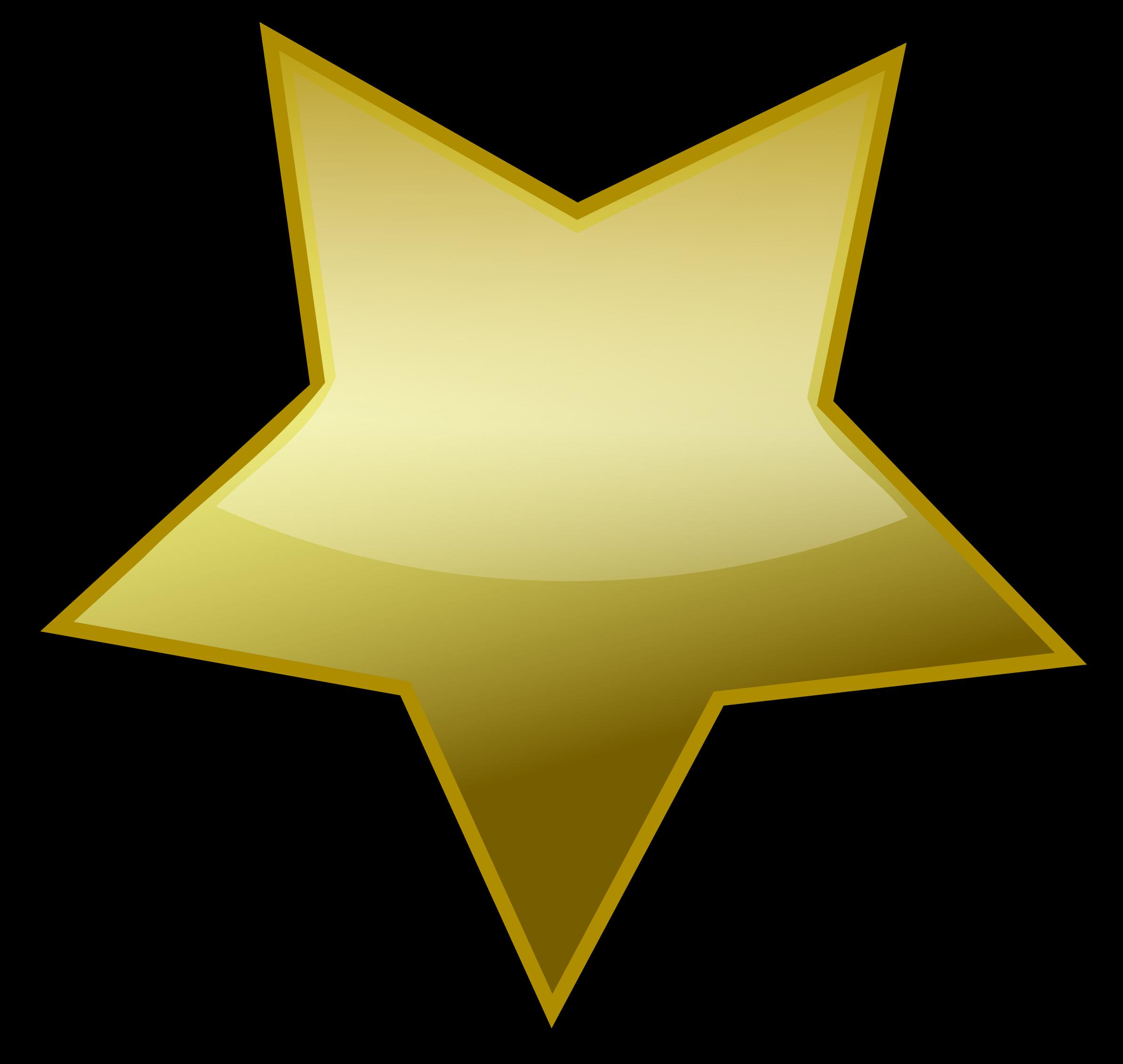 Transparent celebrate clipart - Gold Star Clip Art At Clkercom Vector Online Royalty - Gold Star Vector Png