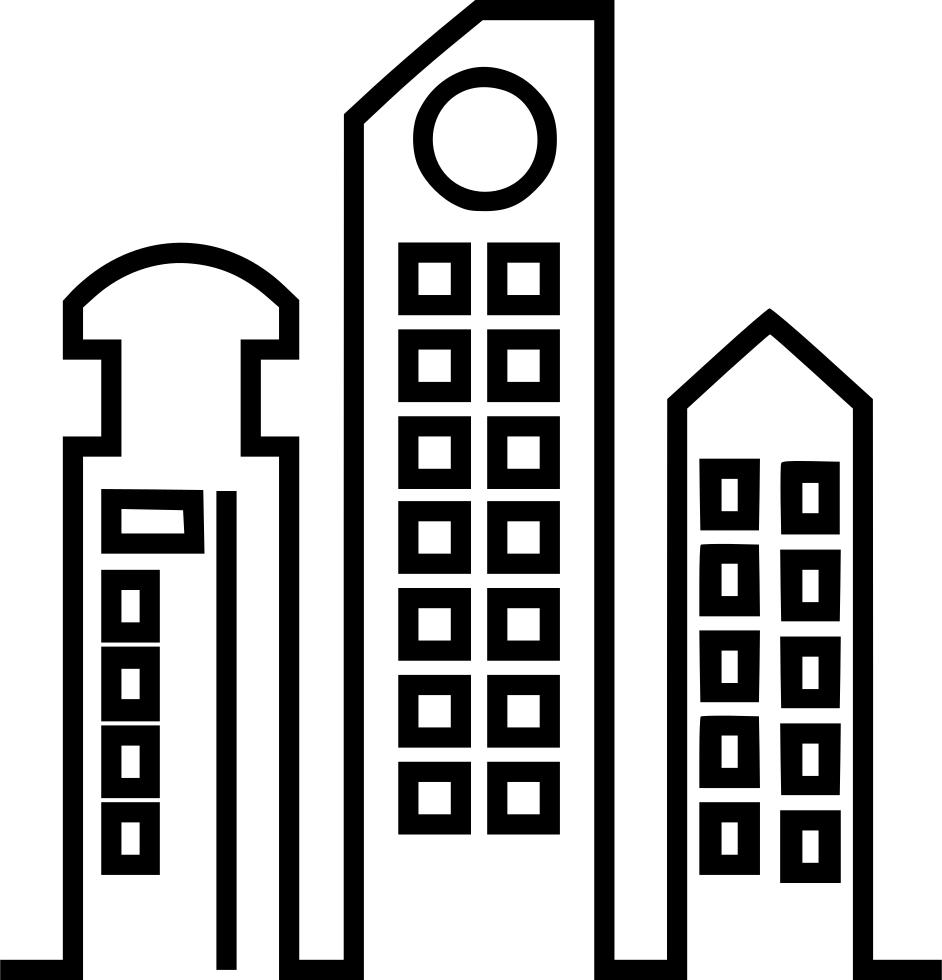 Transparent sky scraper clipart - Skyscraper Comments - High Rise Building Icon