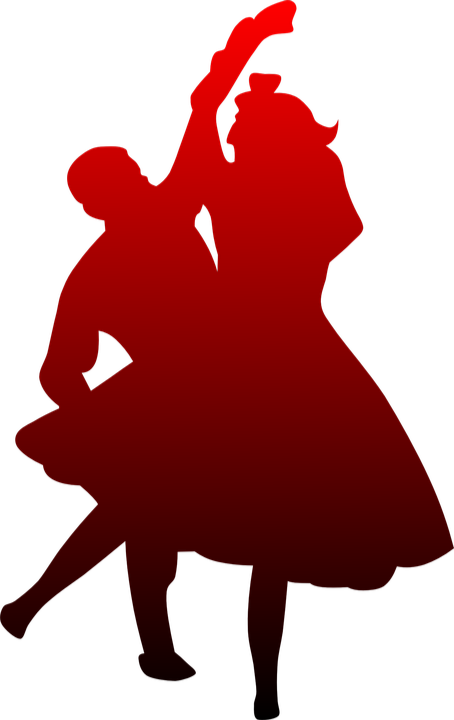 Couple Clipart Prom Dance - Dancin And Romancin - Cd - Free Transparent PNG  Clipart Images Download