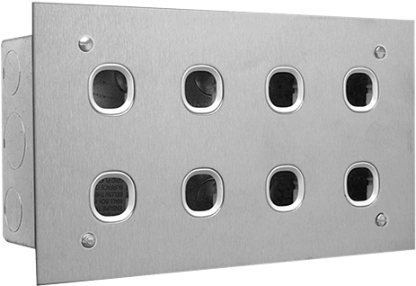 Transparent clipsal timer switch instructions - Clipsal B8 30 4 Switch Plate 8 Gang - Clipsal 8 Gang Wall Plate