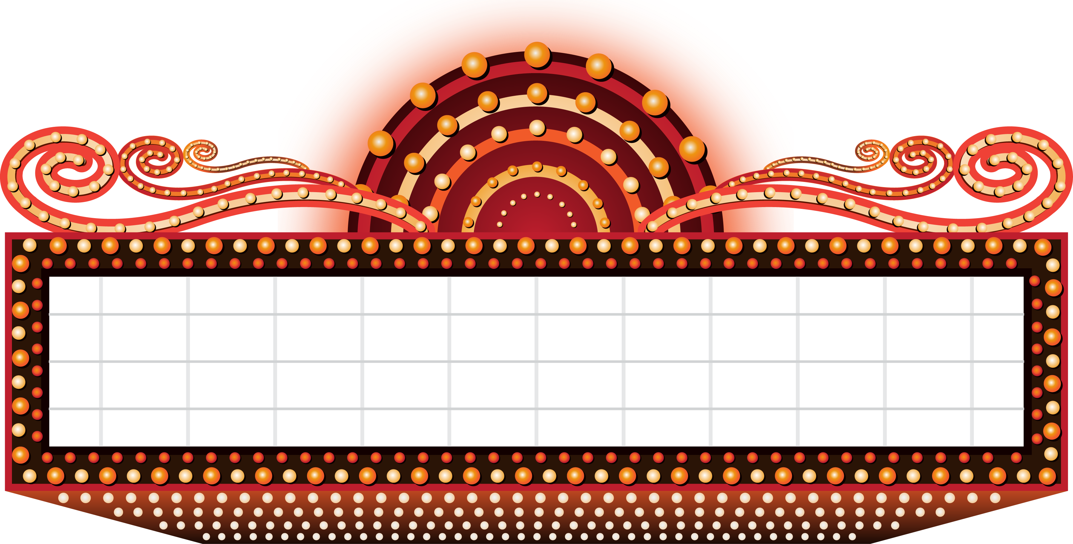 Theatre Vector Marquee Marquee Clipart Transparent Transparent Cartoon Jing Fm