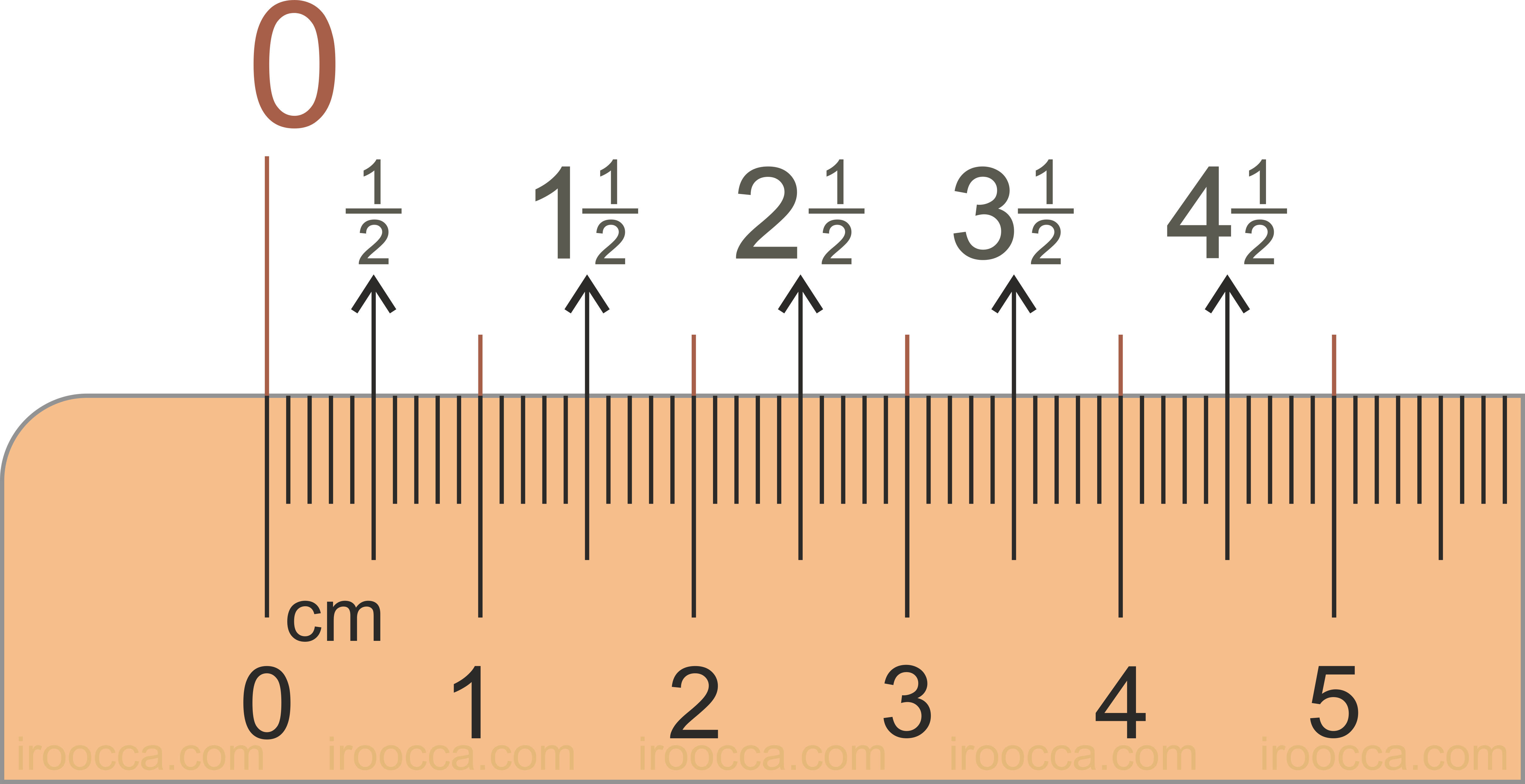 photograph regarding Metric Ruler Printable named Metric Ruler - Free of charge Printable Figures , Clear Cartoon