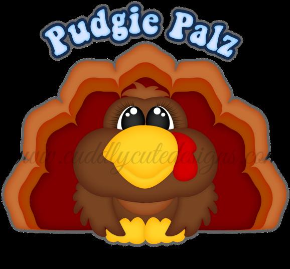 Pudgie Palz Turkey Kids Animals Turkey Stamping Cartoon Transparent Cartoon Jing Fm