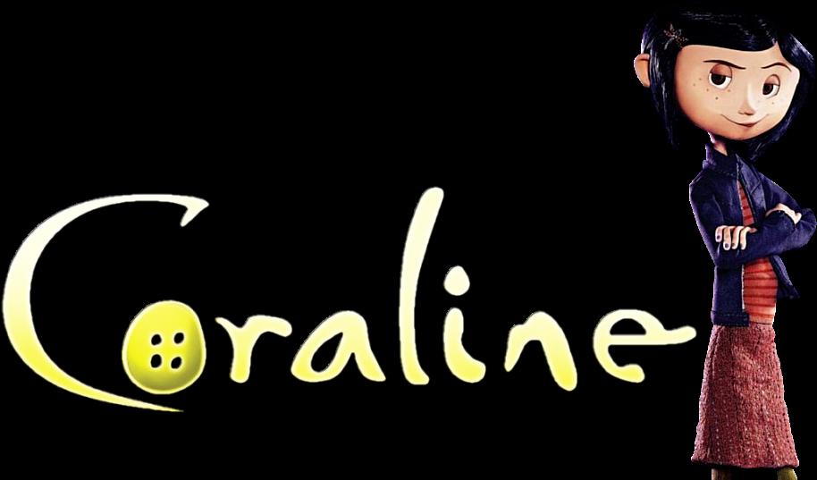 Coraline Image Coraline Title Transparent Transparent Cartoon Jing Fm