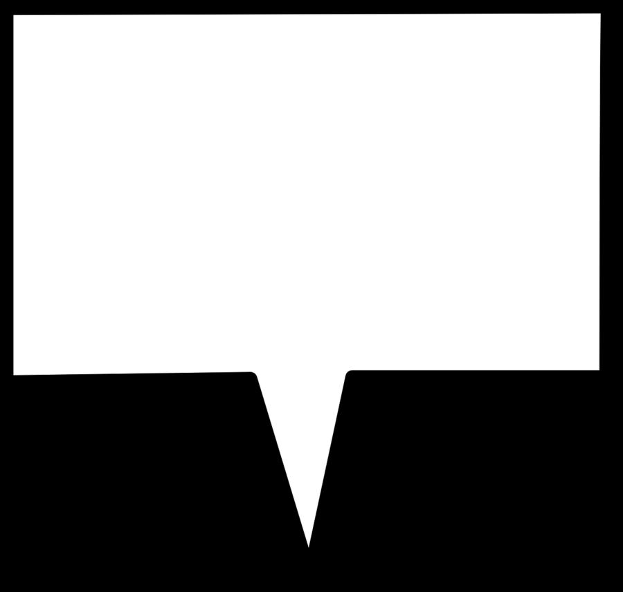 Transparent call out box clipart - Speech Box Rectangular Shape Arrow Message Label - Speech Balloon