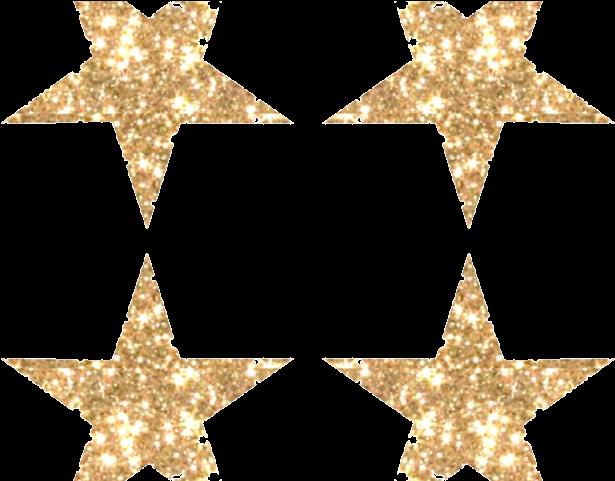 Transparent golden stars clipart - Sunglasses Emoji Clipart Golden Star - Glitter Gold Star Png