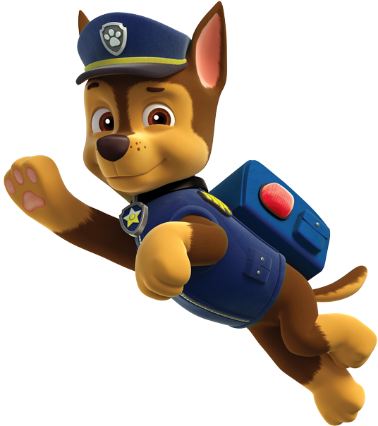Transparent paw patrol badge clip art - About Chase - Chase From Paw Patrol