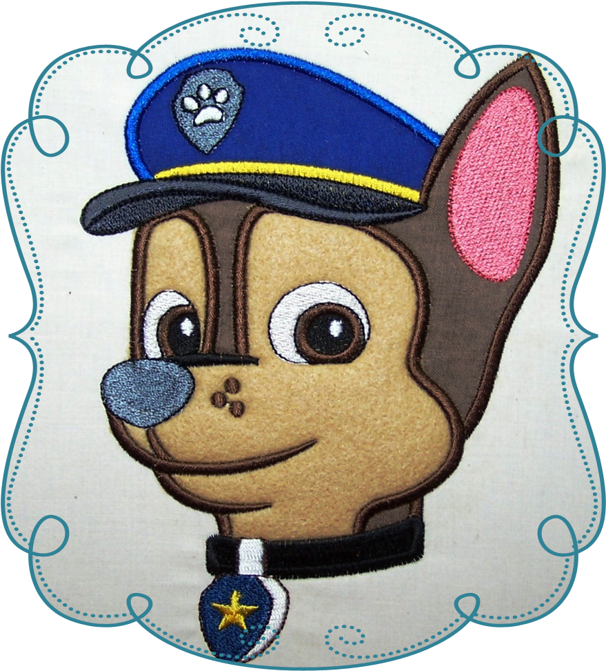 Transparent paw patrol badge clip art - Captain Billy - Chase Paw Patrol Cookie