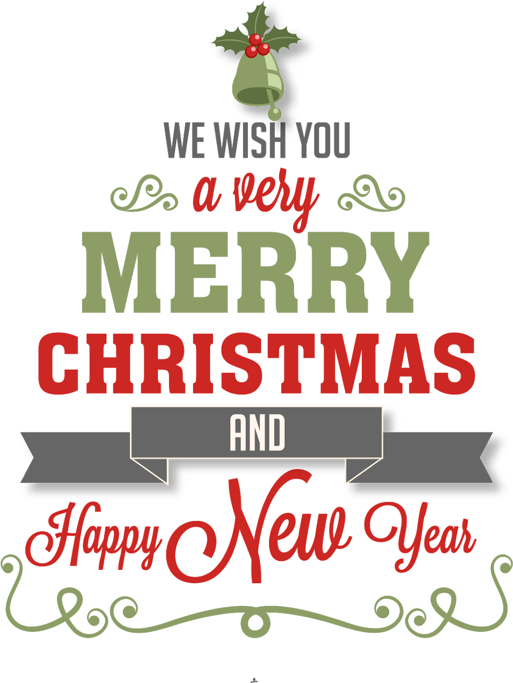 Happy New Year Clipart Merry Christmas