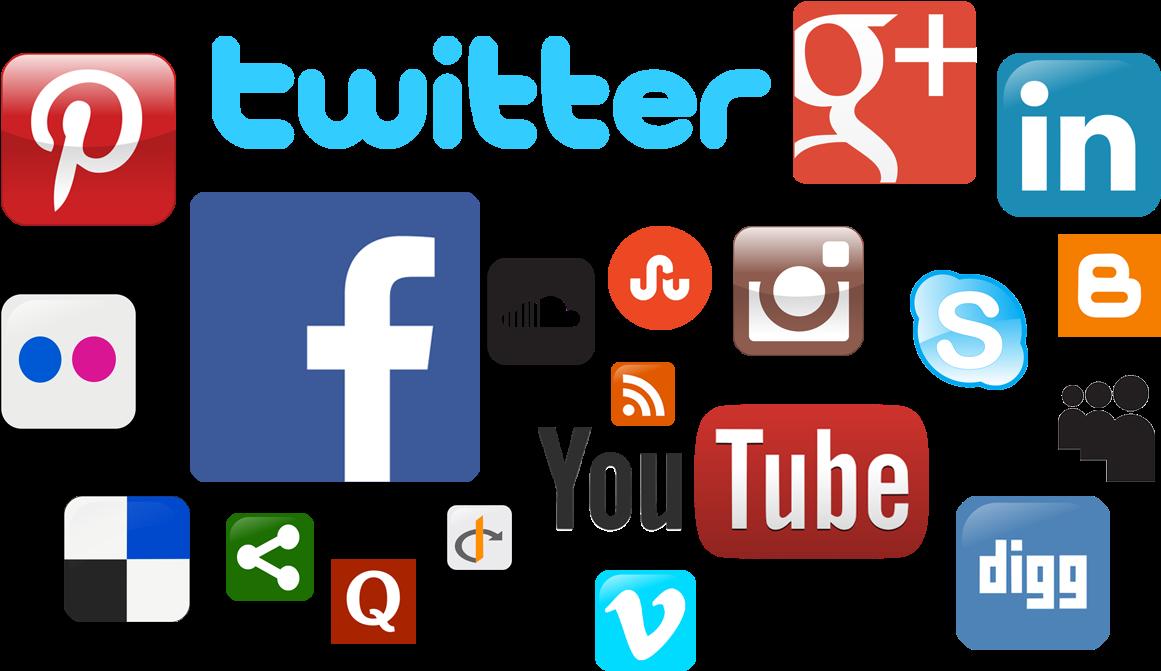 Transparent clipart social media - Social Media Icons Png Clipart - Social Media Fake Information