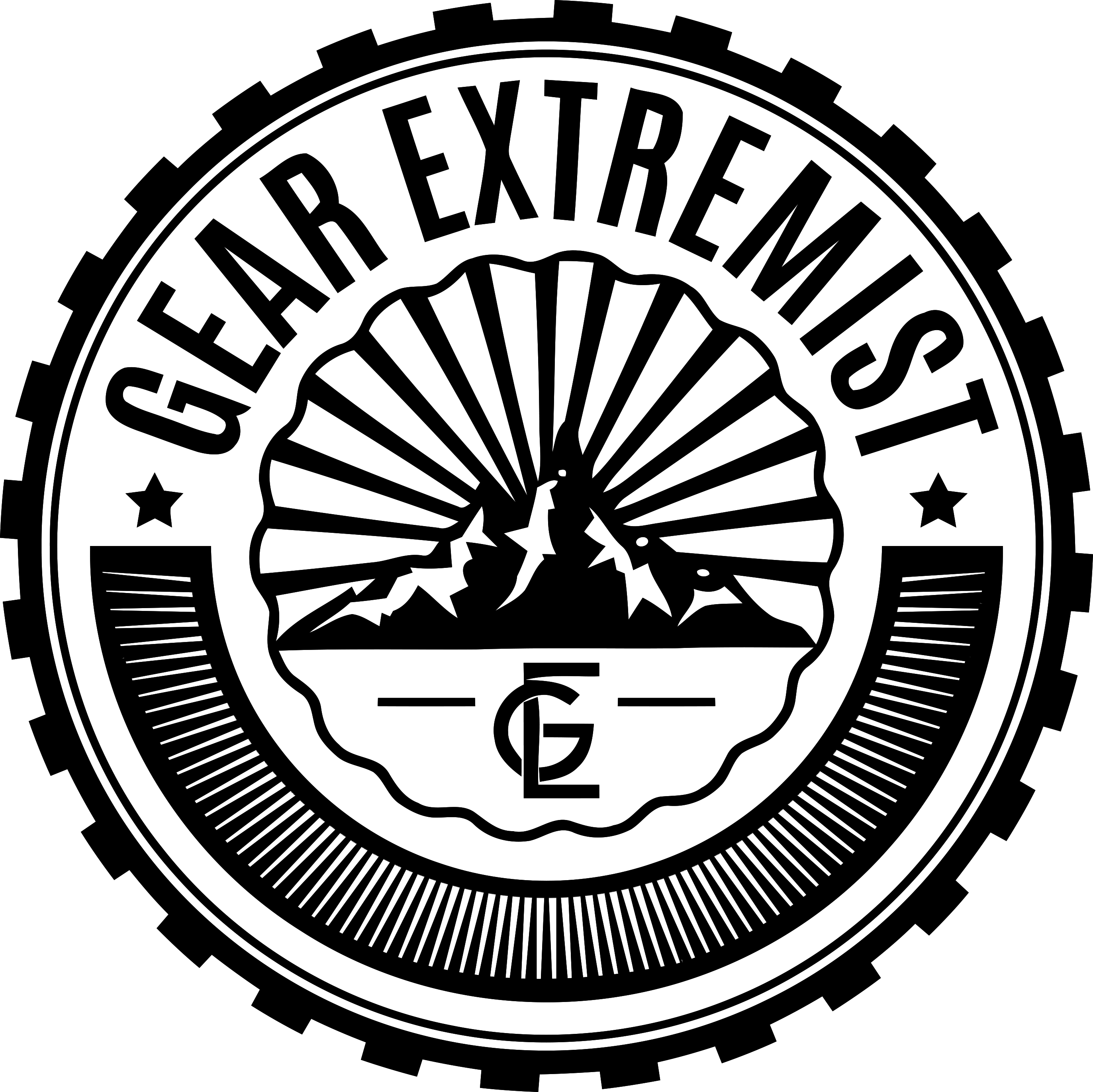Transparent like father like son clipart - Gear Extremist - Best Practice Stamp