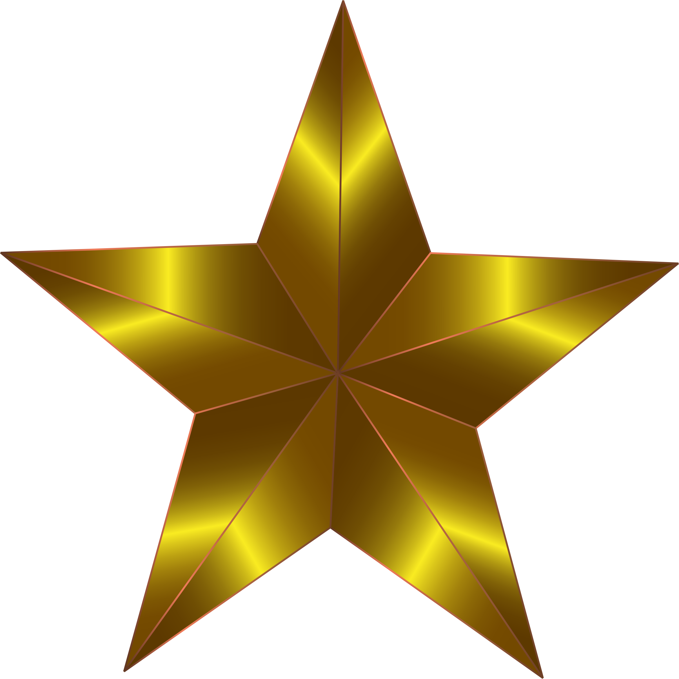 Transparent exploding star clipart - Prismatic Star 9 By Gdj - Gold Star Clipart Png