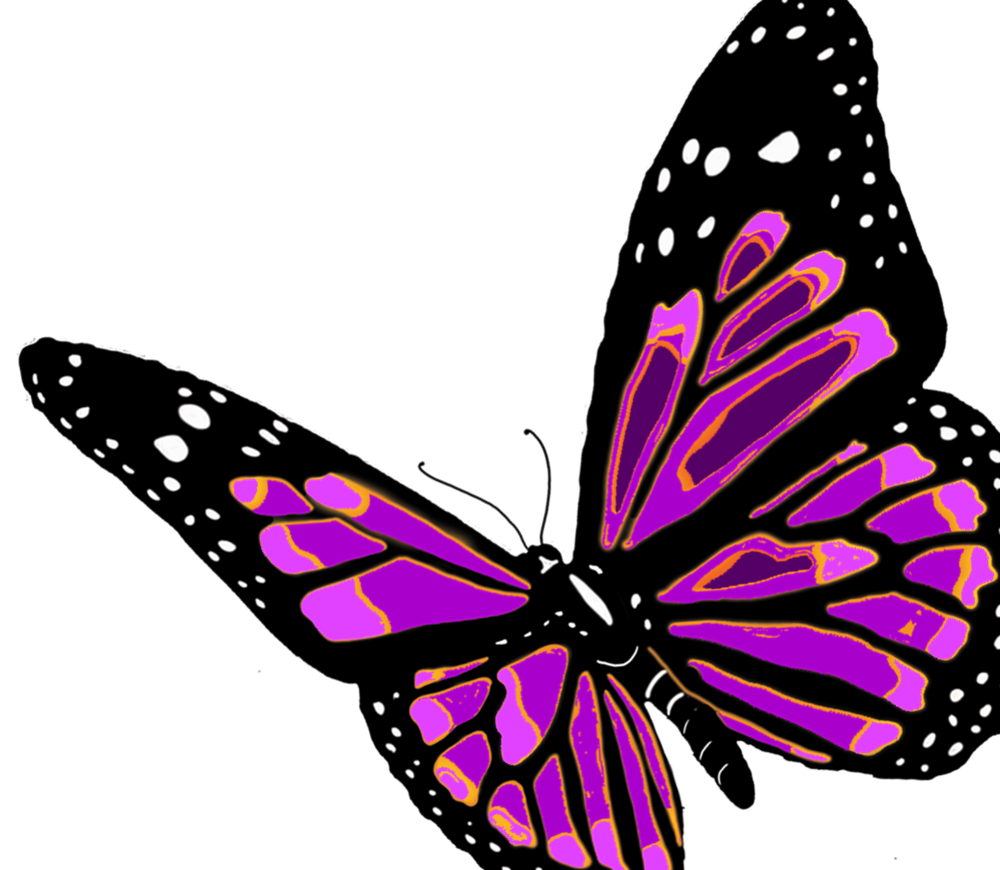 Transparent butterfly woman clipart - Flying Butterfly Images Clipart - Butterfly With Transparent Background