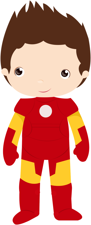 Transparent clipart.com - Cute Avengers Clipart - Superhero Iron Man Clipart