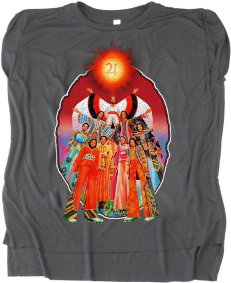 Transparent earth on fire clipart - Earth Wind & Fire Official Store - September Earth Wind And Fire Shirt