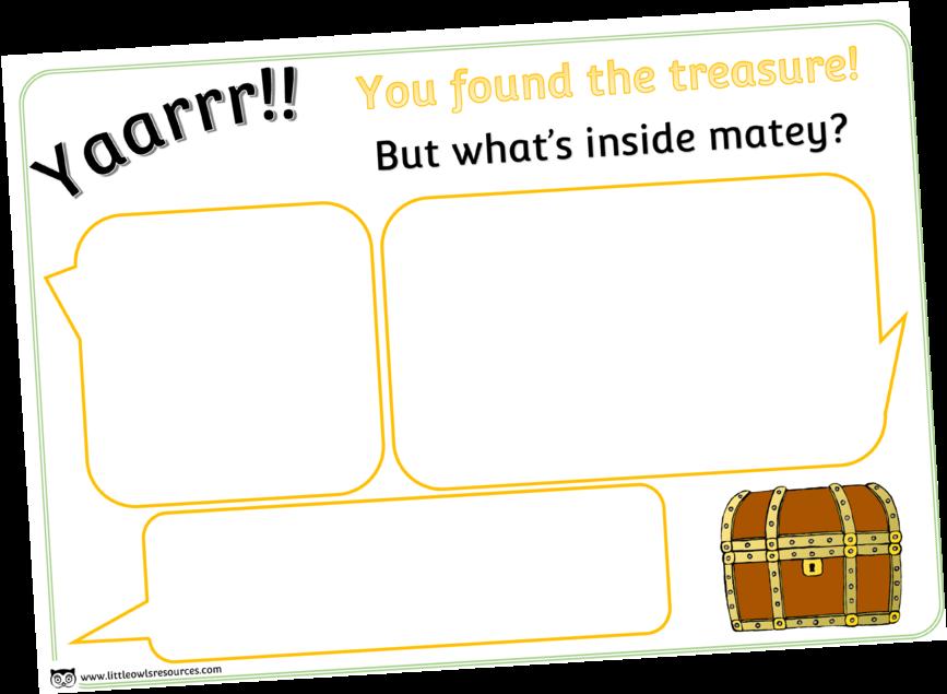 Transparent treasure chest clipart border - Guessintreasureboxcover - Treasure