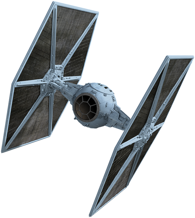 Transparent star wars ships clipart - Spaceship, Model, Toys, Star Wars - Star Wars Tie Fighter Png