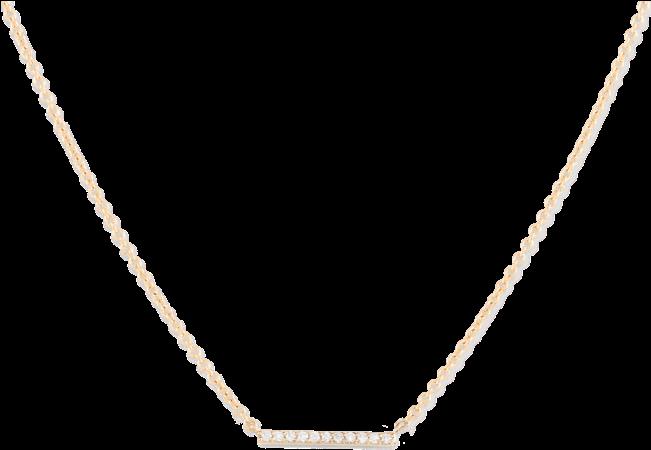 Transparent pendant banner clipart - Diamond Necklace - Necklace