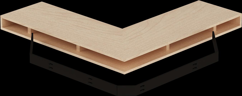 Transparent wall shelf clipart - Designs Of Distinction, Corner Support Bracket Wrought - Corner Floating Shelf Bracket