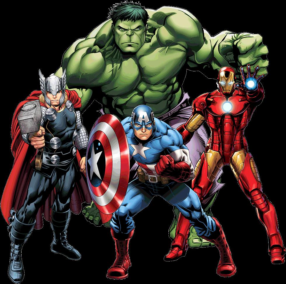 Transparent vector clipart - Avengers Png Clipart - Marvel Avengers Thor