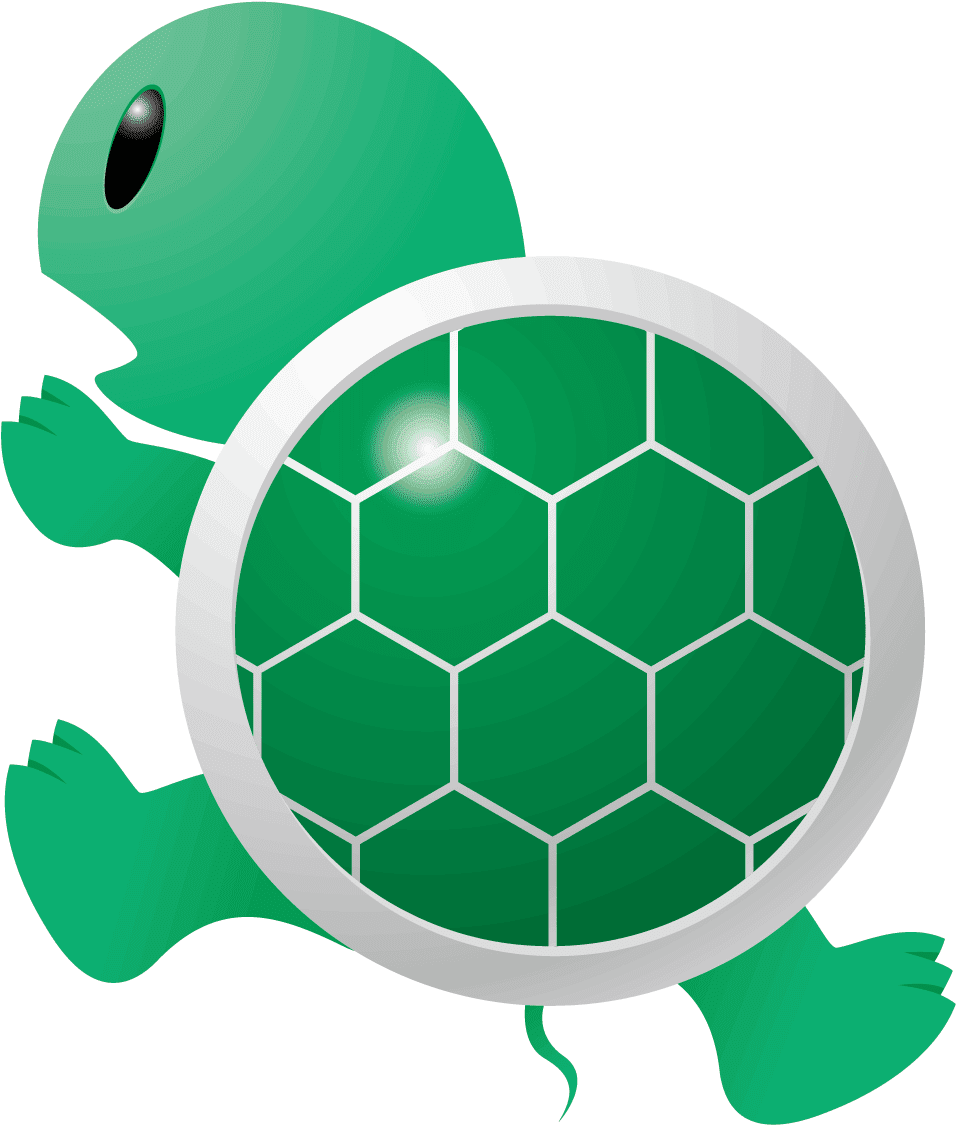 Clipart Turtle Run - Old Slow Cartoon Turtle, Cliparts & Cartoons - Jing.fm