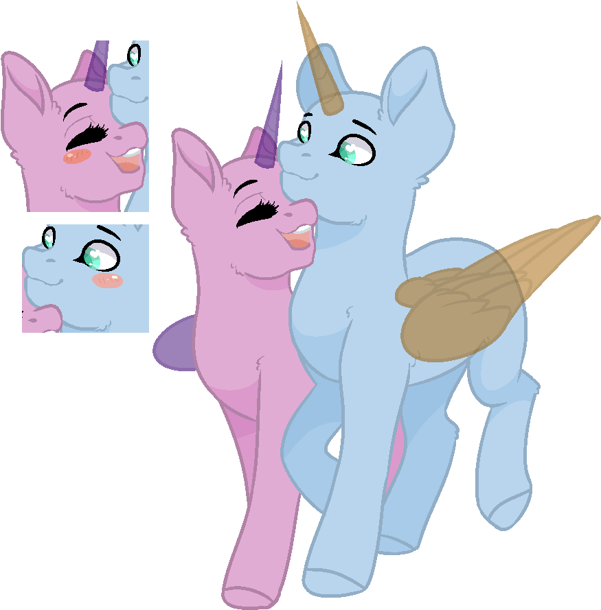 Transparent i love you clipart animated - Mlp Base I Love You - Pony Love Mlp Base