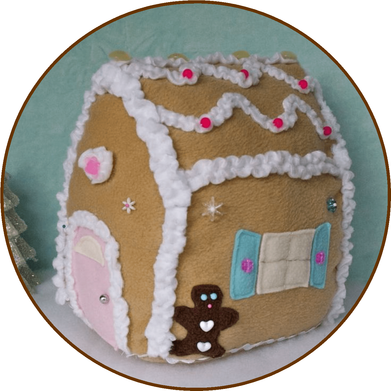 Transparent cute gingerbread house clipart - Door Clipart Gingerbread House - Gingerbread House