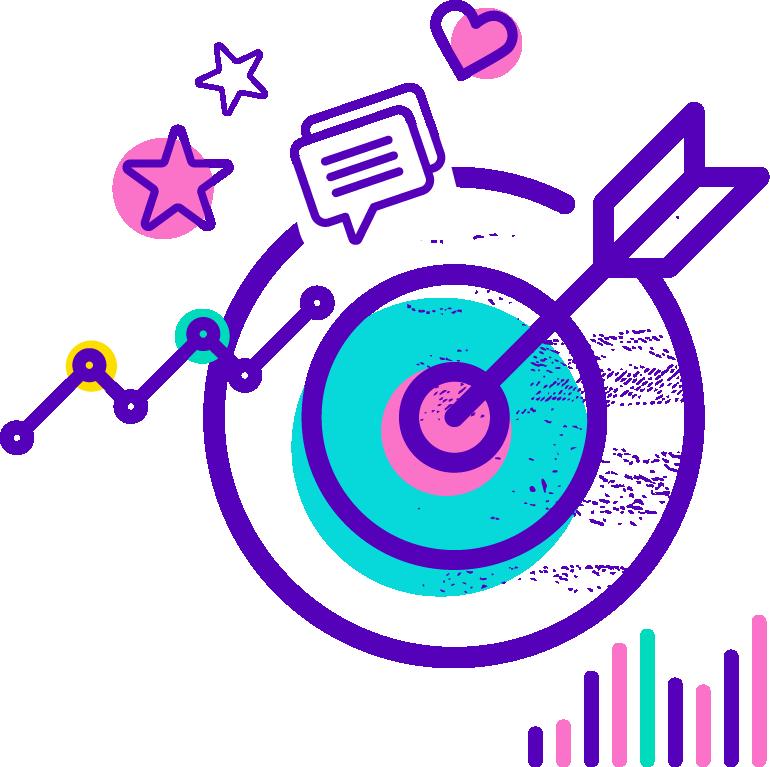 Digital Marketing - Icon Target Vector , Transparent ...