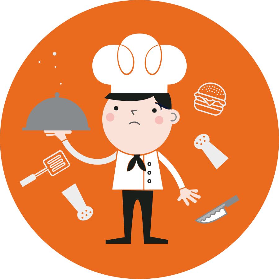 Transparent do work clipart - Why Do You Work - Restaurant Industry Icon