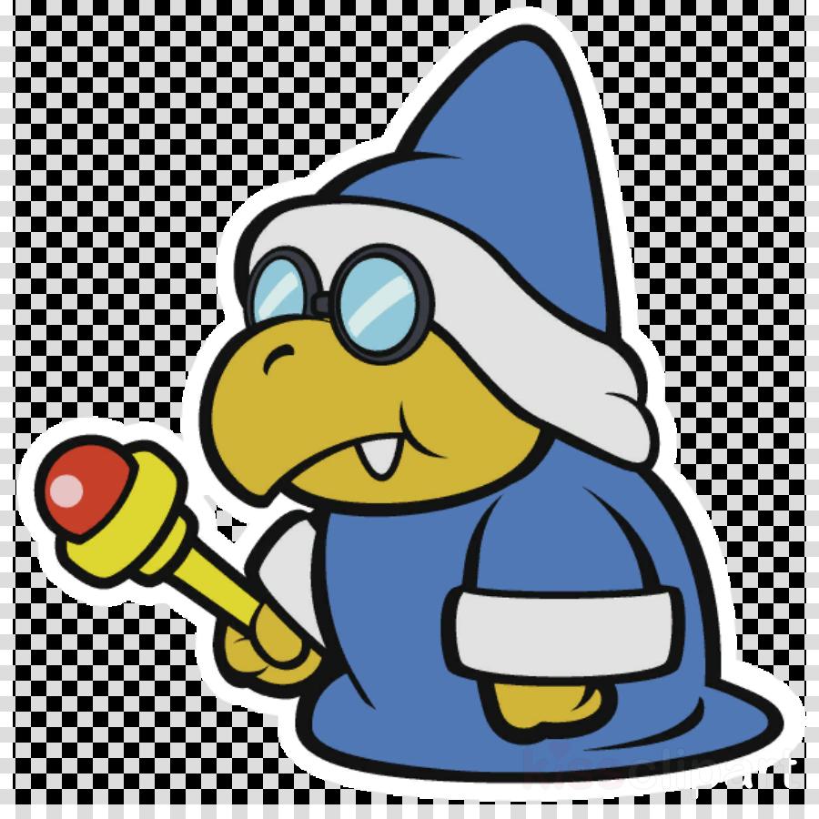 Transparent color splash clipart - Paper Mario Sticker Star Kamek Clipart Paper Mario - Paper Mario Color Splash Characters