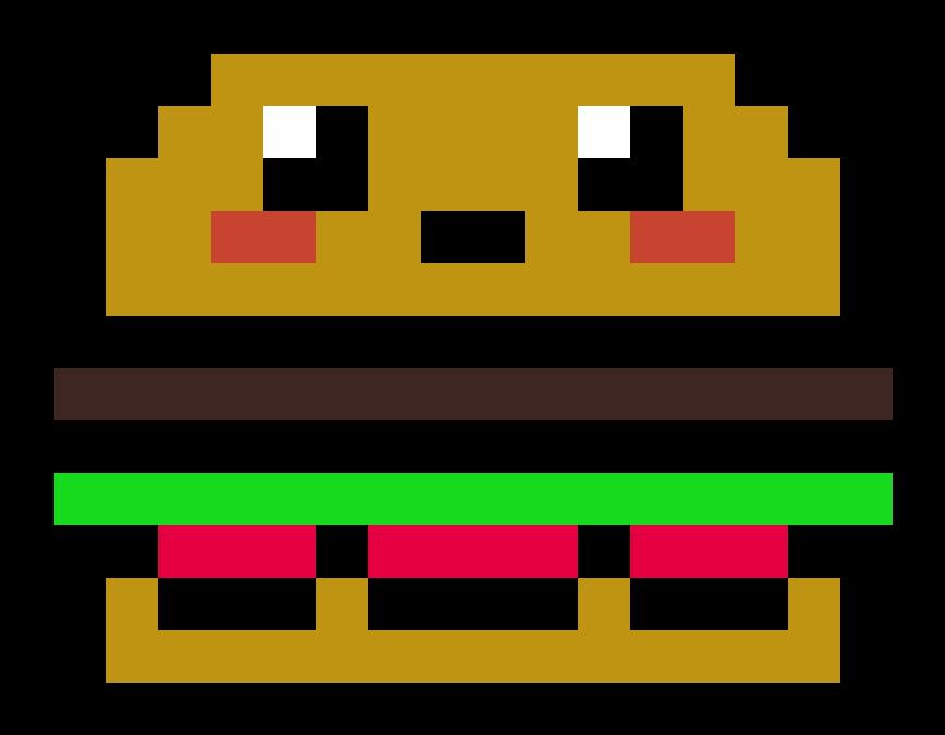 Pixel Art Food Kawaii Video Game Pixel Art Easy Transparent Cartoon Jing Fm