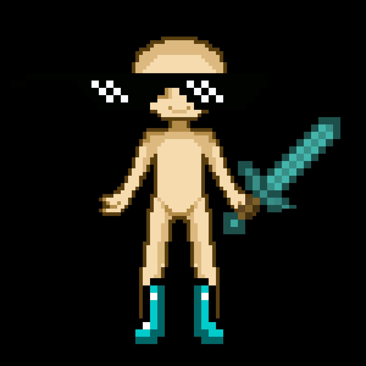 Transparent man vs nature clipart - Man Ho Minecraft - Yuri Death Gif